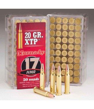HORNADY HORNADY .17 HMR - 20GR (HP) - XTP VARMINT EXPRESS (50 CARTRIDGES)