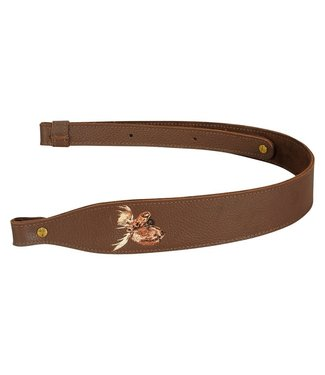 LEVY'S LEVY'S LEATHER SLING W/ MOOSE EMBLEM