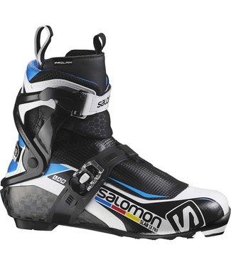 SALOMON MEN'S SALOMON S/RACE SKATE PRO PROLINK - NNN - NORDIC SKATE SKI BOOTS