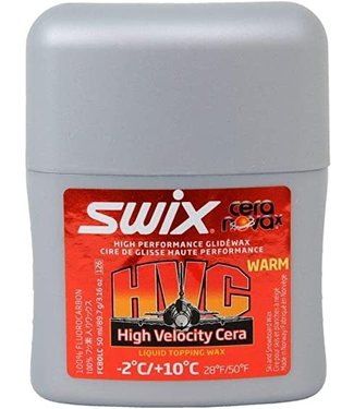 SWIX SWIX HVC (-2°C/+10°C) HIGH VELOCITY CERA WARM HIGH PERFORMANCE GLIDE WAX