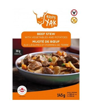 HAPPY YAK HAPPY YAK BEEF STEW WITH VEGETABLES AND POTATOES (145 G)