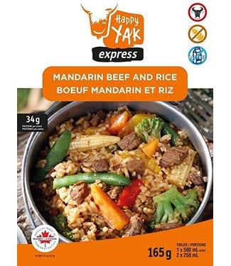 HAPPY YAK HAPPY YAK MANDARIN BEEF AND RICE (165 G)