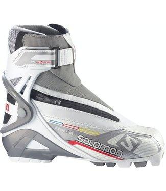 SALOMON WOMEN'S SALOMON VITANE 8 SKATE CUSTOM FIT - NNN - NORDIC SKATE SKI BOOTS