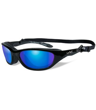 WILEY X WILEY X AIRRAGE POLARIZED BALLISTIC-RATED SAFETY SUNGLASSES