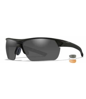 WILEY X WILEY X GUARD ADVANCED POLARIZED BALLISTIC-RATED SAFETY SUNGLASSES - INTERCHANGEABLE THREE-LENS SYSTEM