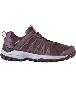 OBOZ WOMEN'S OBOZ SYPES LOW LEATHER BDRY WATERPROOF HIKING SHOE