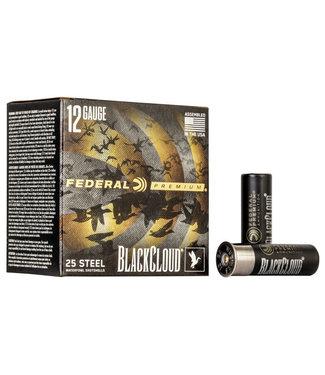 """FEDERAL FEDERAL 12-GAUGE - 3.00"""" - #3 SHOT - BLACK CLOUD STEEL (25 SHOTSHELLS)"""