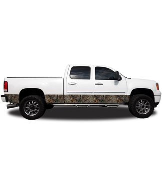 """REALTREE CAMO GRAPHICS REALTREE CAMO GRAPHICS - 16"""" ROCKER PANEL KIT (TWO 16""""X14FT TRIM TO FIT STRIPS)"""