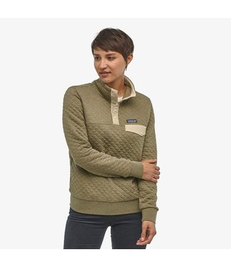 PATAGONIA WOMEN'S PATAGONIA ORGANIC COTTON QUILT SNAP-T PULLOVER