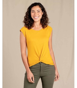 TOAD & CO WOMEN'S TOAD & CO ANZA SHORT SLEEVE TEE