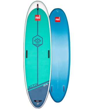 """RED PADDLE CO RED PADDLE CO ACTIV YOGA INFLATABLE PADDLE  BOARD 10'8"""""""