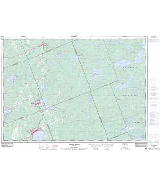 CANADIAN TOPO CANADIAN TOPO TOPOGRAPHIC MAP - SOUTH RIVER - 31E14