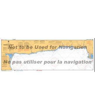 CANADIAN HYDROGRAPHIC SERVICE CANADIAN HYDROGRAPHIC SERVICE MARINE CHART - 2086 - LAKE ONTARIO - TORONTO TO HAMILTON
