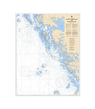 CANADIAN HYDROGRAPHIC SERVICE CANADIAN HYDROGRAPHIC SERVICE MARINE CHART - 2242 - GEORGIAN BAY - GIANT'S TOMB ISLAND TO FRANKLIN ISLAND