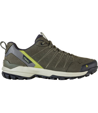 OBOZ MEN'S OBOZ SYPES LOW LEATHER B-DRY WATERPROOF HIKING SHOES