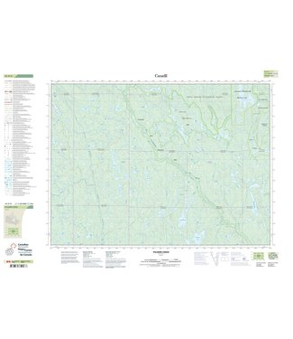 CANADIAN TOPO CANADIAN TOPO TOPOGRAPHIC MAP - 041P02 - PILGRIM CREEK