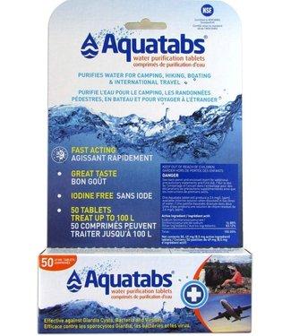 AQUATABS AQUATABS WATER PURIFICATION TABLETS FOR 1 L (50-PACK)