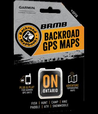 BACKROAD MAPBOOKS BACKROAD MAPBOOKS BACKROAD GPS MAPS - ONTARIO