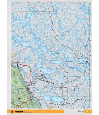 BACKROAD MAPBOOKS BACKROAD MAPBOOKS BACKROAD TOPOGRAPHIC MAP - NEON-24 - THORNE