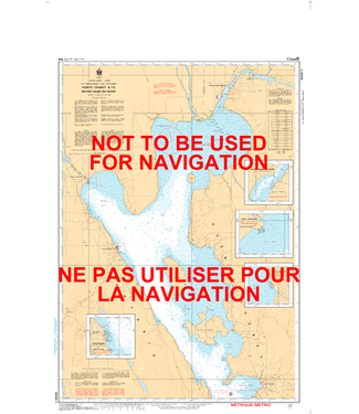 CANADIAN HYDROGRAPHIC SERVICE CANADIAN HYDROGRAPHIC SERVICE MARINE CHART - 1556 - LAKE TIMISKAMING