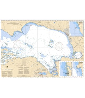 CANADIAN HYDROGRAPHIC SERVICE CANADIAN HYDROGRAPHIC SERVICE MARINE CHART - 6035 - LAKE NIPISSING - EASTERN PORTION