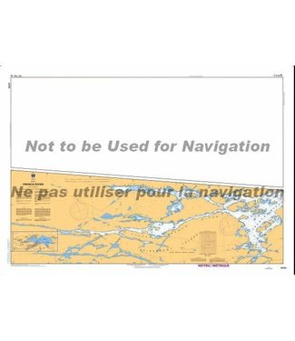 CANADIAN HYDROGRAPHIC SERVICE CANADIAN HYDROGRAPHIC SERVICE MARINE CHART - 6036 - LAKE NIPISSING - FRENCH RIVER
