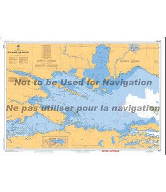 CANADIAN HYDROGRAPHIC SERVICE CANADIAN HYDROGRAPHIC SERVICE MARINE CHART - 6037 - LAKE NIPISSING - IRON ISLAND TO WEST BAY