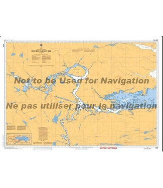 CANADIAN HYDROGRAPHIC SERVICE CANADIAN HYDROGRAPHIC SERVICE MARINE CHART - 6038 - LAKE NIPISSING - WEST BAY TO WEST ARM