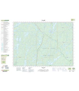 CANADIAN TOPO CANADIAN TOPO TOPOGRAPHIC MAP - 031L13 - INGALL LAKE