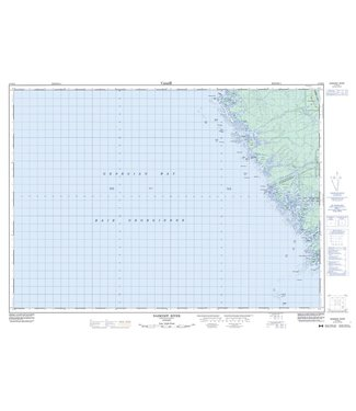 CANADIAN TOPO CANADIAN TOPO TOPOGRAPHIC MAP - 041H10 - NAISCOOT RIVER