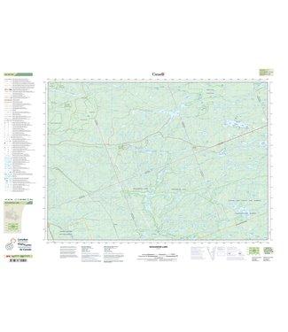CANADIAN TOPO CANADIAN TOPO TOPOGRAPHIC MAP - 041H16 - NOGANOSH LAKE