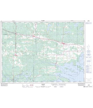 CANADIAN TOPO CANADIAN TOPO TOPOGRAPHIC MAP - 041I08 - VERNER