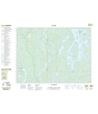 CANADIAN TOPO CANADIAN TOPO TOPOGRAPHIC MAP - 041I16 - LAKE TEMAGAMI