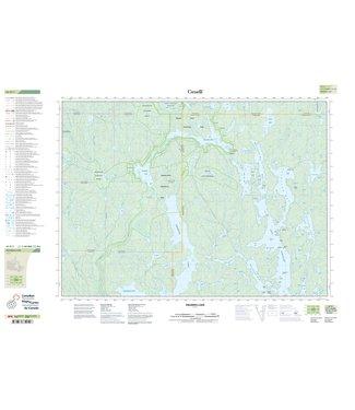 CANADIAN TOPO CANADIAN TOPO TOPOGRAPHIC MAP - 041P01 - OBABIKA LAKE