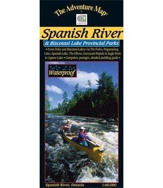 CHRISMAR MAPPING SERVICES CHRISMAR MAPPING SERVICES ADVENTURE MAP - SPANISH RIVER & BISCOTASI LAKE PROVINCIAL PARKS