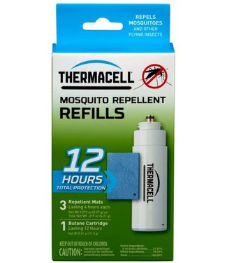 THERMACELL THERMACELL R1(CA) MOSQUITO REPELLER REFILL (12-HOUR PACK)