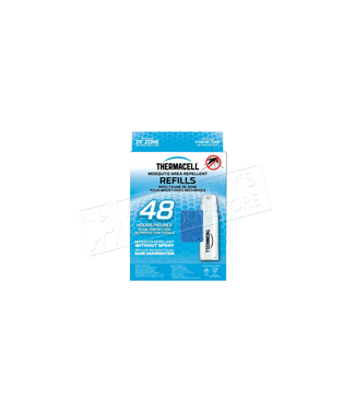 THERMACELL THERMACELL CARTRIDGE AND MAT REFILL PACK (48 HOURS)