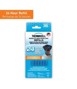 THERMACELL THERMACELL MOSQUITO REPELLENT BACKPACKER MAT REFILL ONLY (6 MATS)