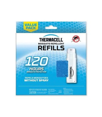 THERMACELL THERMACELL CARTRIDGE AND MAT REFILL PACK (120 HOURS)