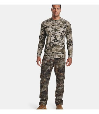 UNDER ARMOUR UNDER ARMOUR CHILL BRUSH LINE LONG SLEEVE SHIRT