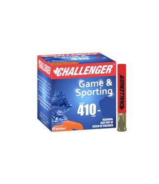 "CHALLENGER CHALLENGER .410 BORE - 3.00"" - #7.5 SHOT - GAME & SPORTING (25 SHOTSHELLS)"