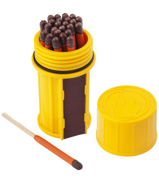 UCO UCO STORMPROOF MATCH KIT - YELLOW