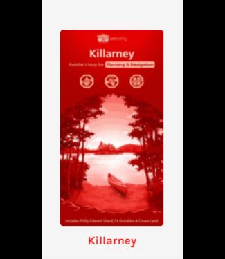 UNLOSTIFY UNLOSTIFY KILLARNEY - PADDLER'S MAP