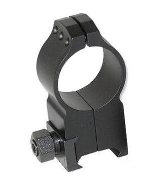 WARNE WARNE TACTICAL - A618M -  AIMPOINT ALUMINUM AR15 RING - 30MM, ULTRA-HIGH, MATTE