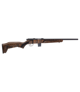 """SAVAGE ARMS SAVAGE ARMS MODEL 93R17 BOLT-ACTION RIFLE (10-ROUND) - .17 HMR - LAMINATED WOOD STOCK - 18"""" BARREL"""
