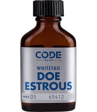 CODE BLUE CODE BLUE WHITETAIL DOE ESTROUS URINE - 1 OZ