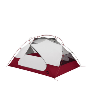 MOUNTAIN SAFETY RESEARCH (MSR) MOUNTAIN SAFETY RESEARCH (MSR) ELIXIR 3 TENT-RED