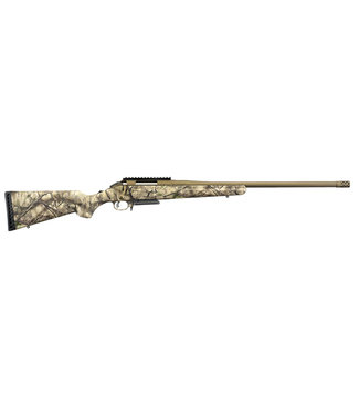 """RUGER RUGER AMERICAN BOLT-ACTION RIFLE - 308 WIN (3-ROUND) SYNTHETIC GO WILD CAMO STOCK - 22"""" BARREL"""