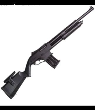 "KHAN ARMS KHAN ARMS CANUCK RECON PUMP-ACTION SHOTGUN (5-ROUND) 12 GAUGE - MATTE BLACK STOCK - 20"" BARREL"