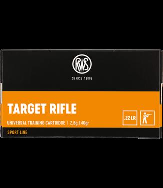 RWS RWS .22 LR (40 GR) - TARGET RIFLE (50 CARTRIDGES)